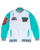 Mitchell & Ness 灰熊復古白色出場服 NBA Vancouver Grizzlies Hardwood Classics On-Court Jacket M