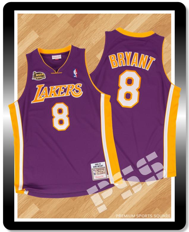 3eb09448 PSS NBA Jersey Store Premium Sports Square- Mitchell & Ness NBA Lakers Kobe  Bryant Finals 2000-01 Hardwood Classics Purple Jersey 40 (M)- Mitchell &  Ness- ...