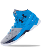 Under Armour Curry Two Basketball Shoes 籃球鞋 - Stephen Curry Playoff Blue/Gray - Men's US 10.0